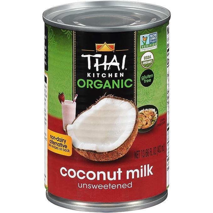Thai Kitchen Organic Coconut Milk 13 66 Oz Pack Of 6