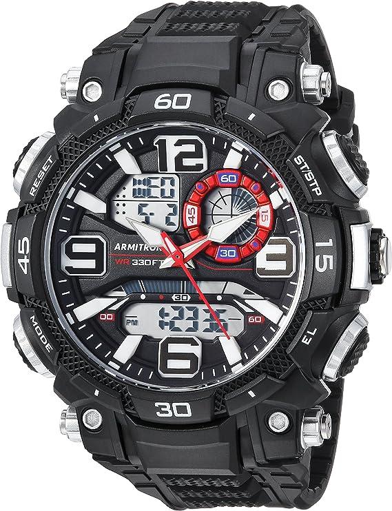 Armitron Sport Men's Analog-Digital Chronograph Resin Strap Watch