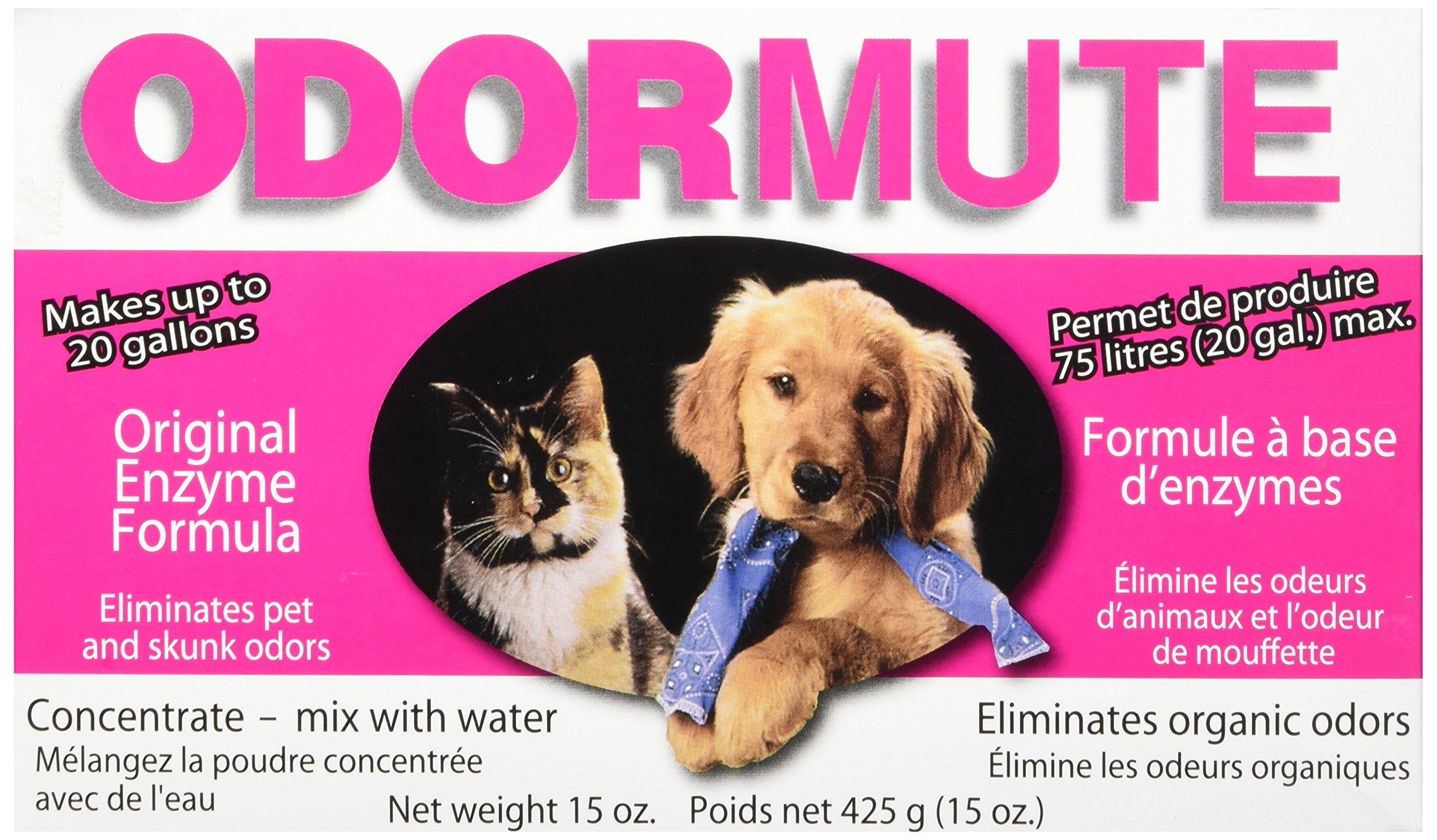 Odormute Dog and Cat Odor Eliminator, 15-Ounce by Hueter Toledo