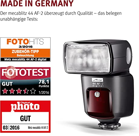 Mecablitz 44 Af 2 Für Pentax Kameras Blitzgerät Mit Kamera