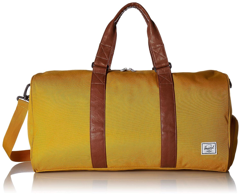 Black Crosshatch Herschel Novel Mid-Volume Duffel Bag One Size