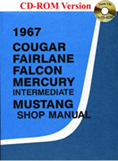 1967 colorized mustang wiring and vacuum diagrams david e 1967 cougar fairlane falcon mercury mustang shop manual asfbconference2016 Gallery