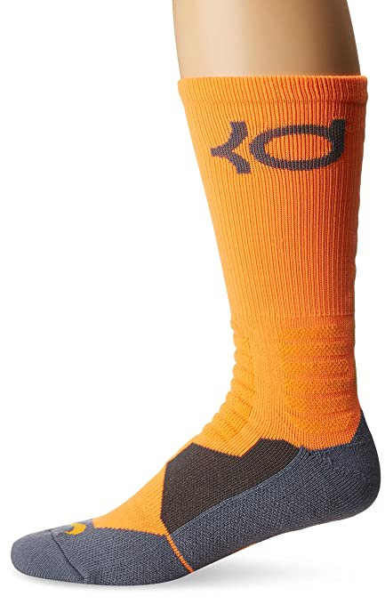 Nike - Calcetines De Baloncesto Unisex KD Hyper Elite Crew, Color, Talla M
