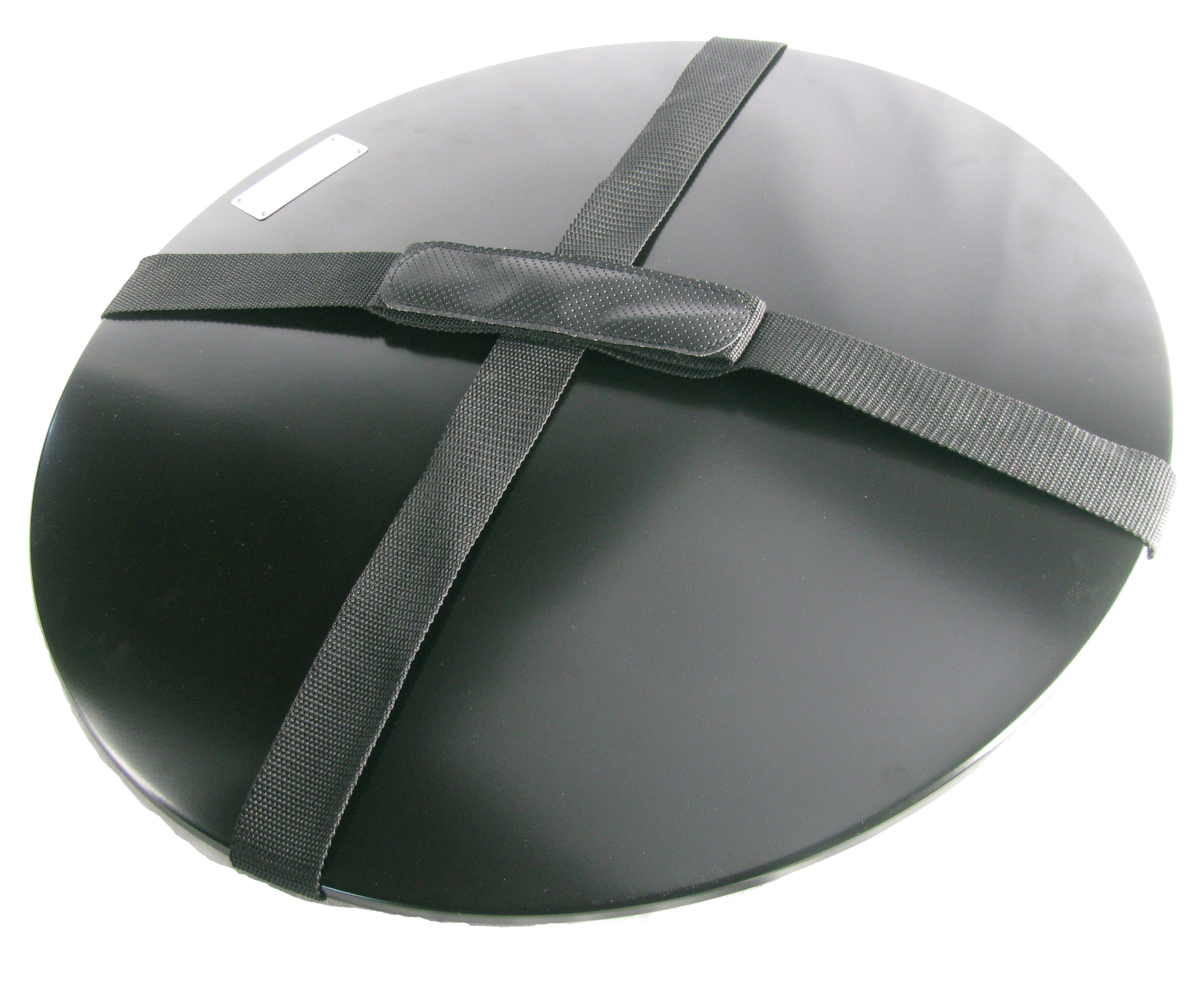 Heininger 5996 Black Fire Pit Cover with Carrying Handle