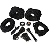 amazon morimoto extensions 9006 extension cord automotive Stainless Steel Wire Loom painless 70970 wiring harness