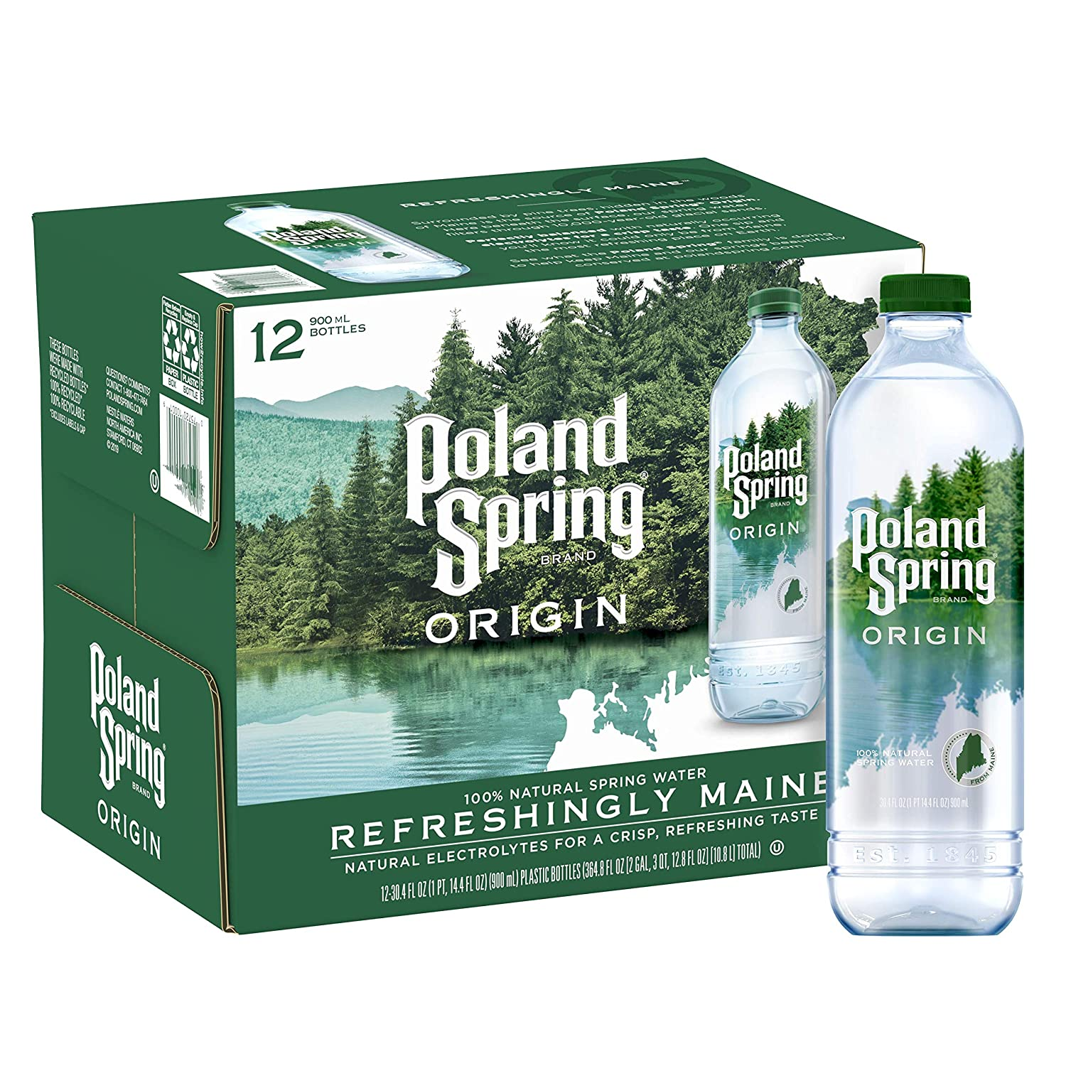 Which type of bottled water is suitable for plants