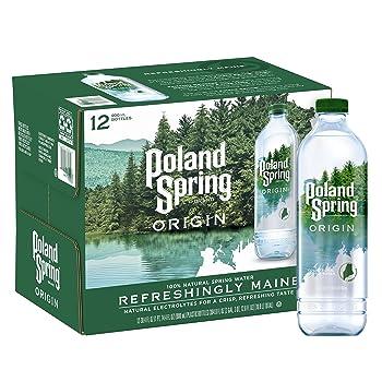 Poland Spring Origin 100% Natural Spring Water