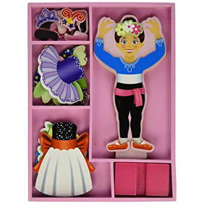 Melissa & Doug Nina Ballerina Dress-Up: Toys & Games