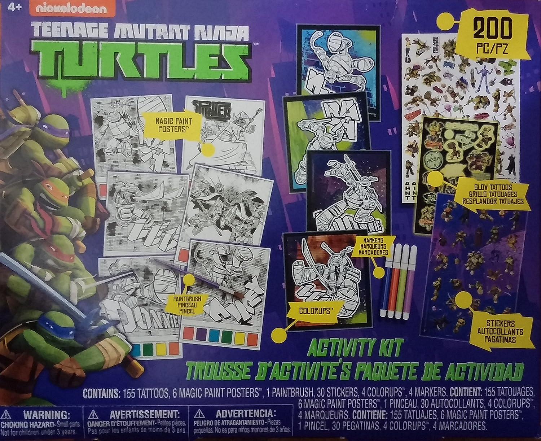Amazon.com : Teenage Mutant Ninja Turtle 200 Piece Activity ...
