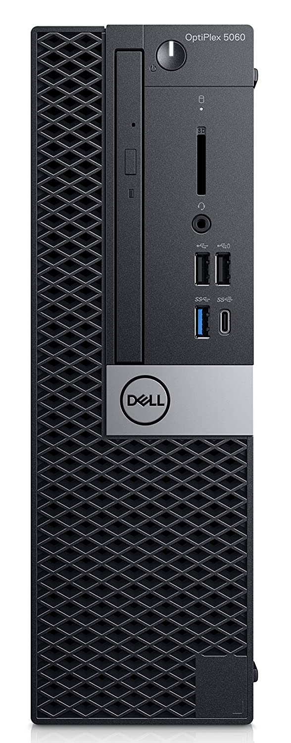 DELL OptiPlex 5060 3.2 GHz 8th Gen Intel® Core™ i7 i7-8700 Black SFF PC - Ordenador de sobremesa (3.2 GHz, 8th Gen Intel® Core™ i7, 8 GB, 256 GB, DVD±RW, Windows 10 Pro)