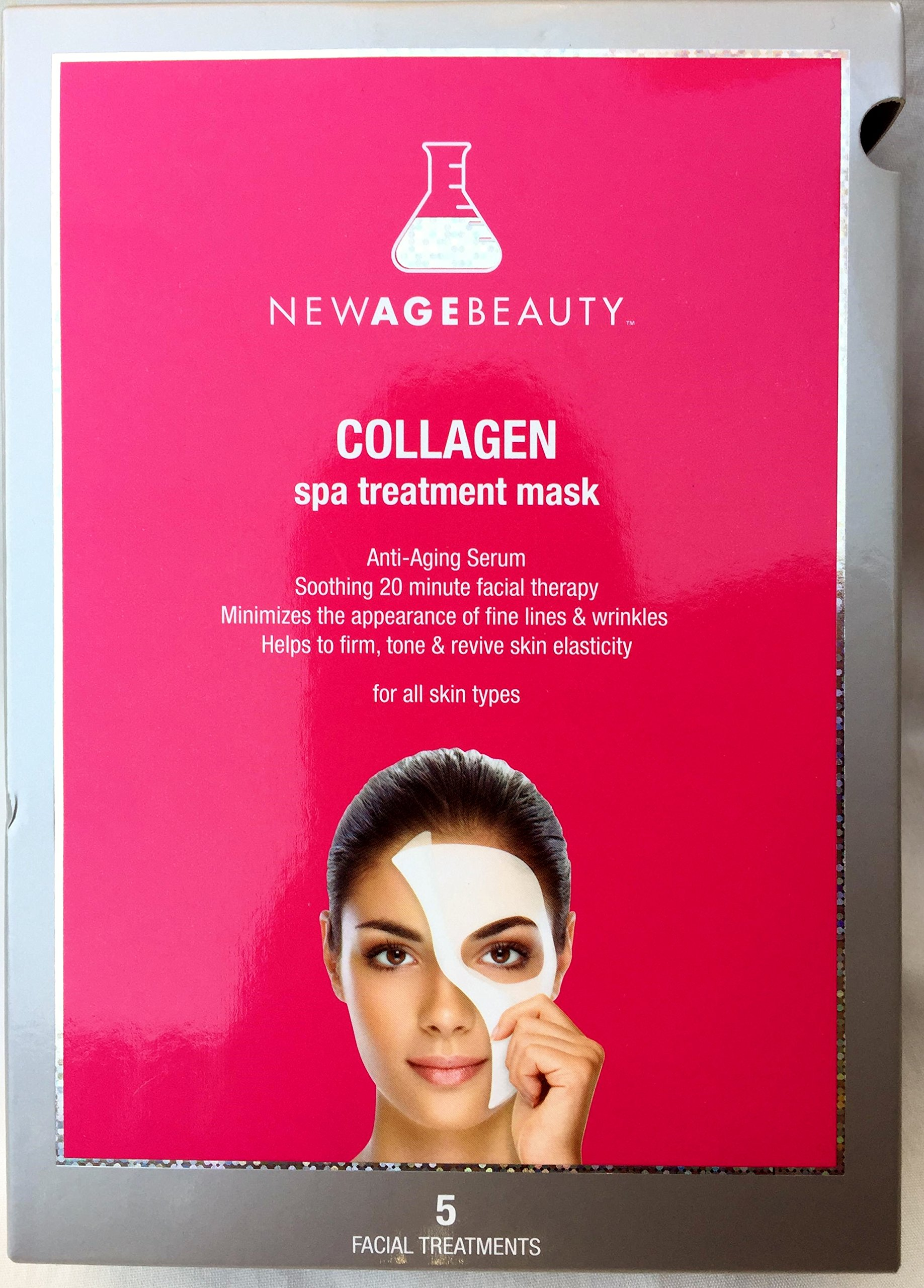 New Age Beauty Retinol Spa Treatment Mask