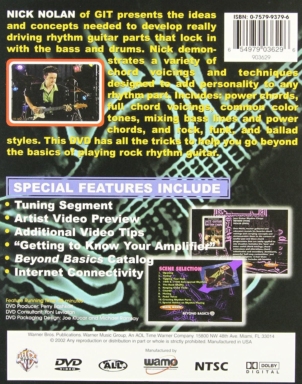 Beyond Basics: Rock Guitar Rhythm Chops Dvd Reino Unido: Amazon.es ...