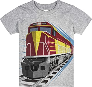 product image for Shirts That Go Little Boys' Red DieselTrain T-Shirt