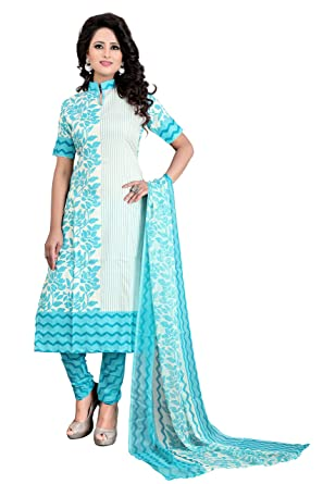 47c8babb59 Dresses for women party wear Designer Dress Material Today offers buy online  in Low Price Sale Pink Color Cotton Fabric Free Size Salwar Suit Material:  ...