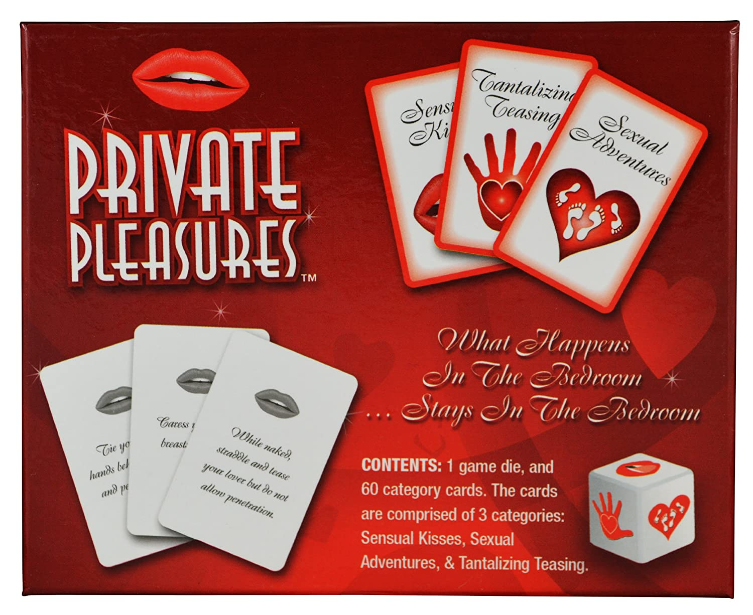Amazon.com: Private Pleasures, Adult Card Game For Couples And Lovers,  Bundle: Toys U0026 Games