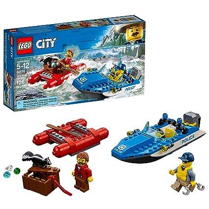 Amazoncom Lego City Wild River Escape 60176 Building Kit 126