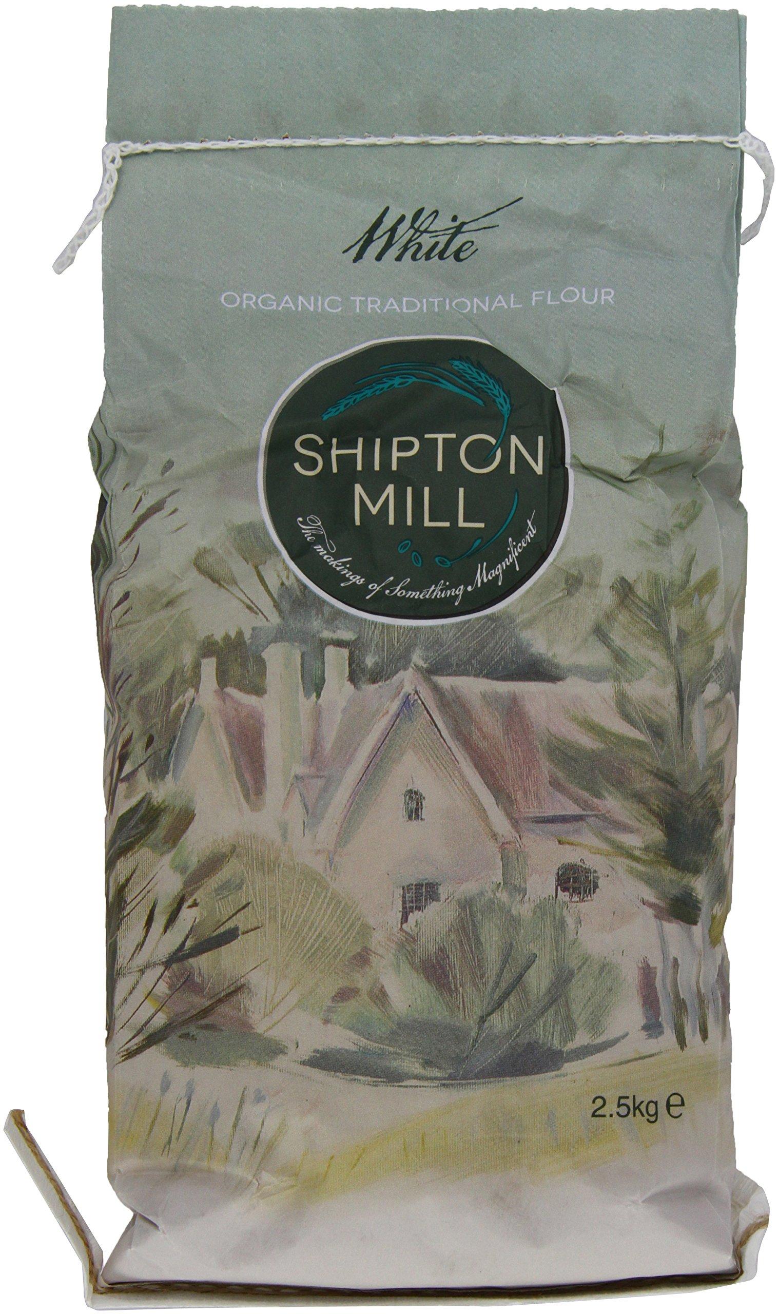 Shipton Mill Organic White Strong Flour 2.5 K g (Pack of 5)