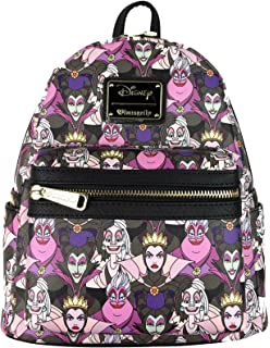 78c5cb63023 Loungefly Disney Villains Mini Faux Leather Backpack