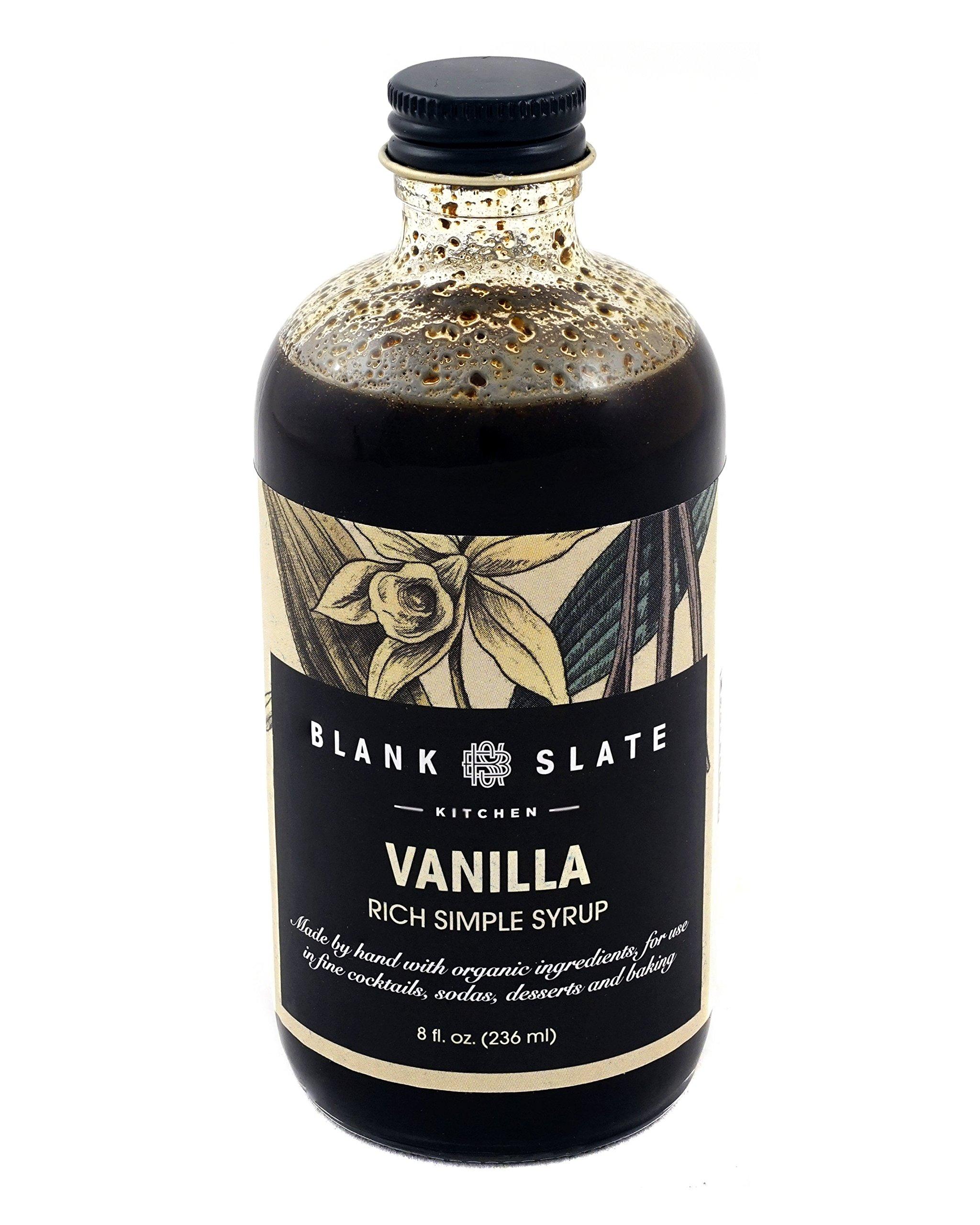 Vanilla Rich Simple Syrup