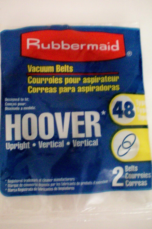 Hoover Type 48 Vacuum Cleaner Belts -- Hoover Upright -- Pkg of 2 Belts
