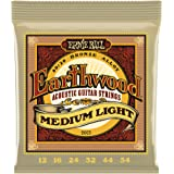 Ernie Ball Earthwood Medium Light 80/20 Bronze Acoustic Set, .012 - .054