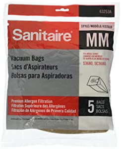 Eureka Sanitaire By Electrolux Style MM Premium Allergen Filtration Bags 5pk 63253