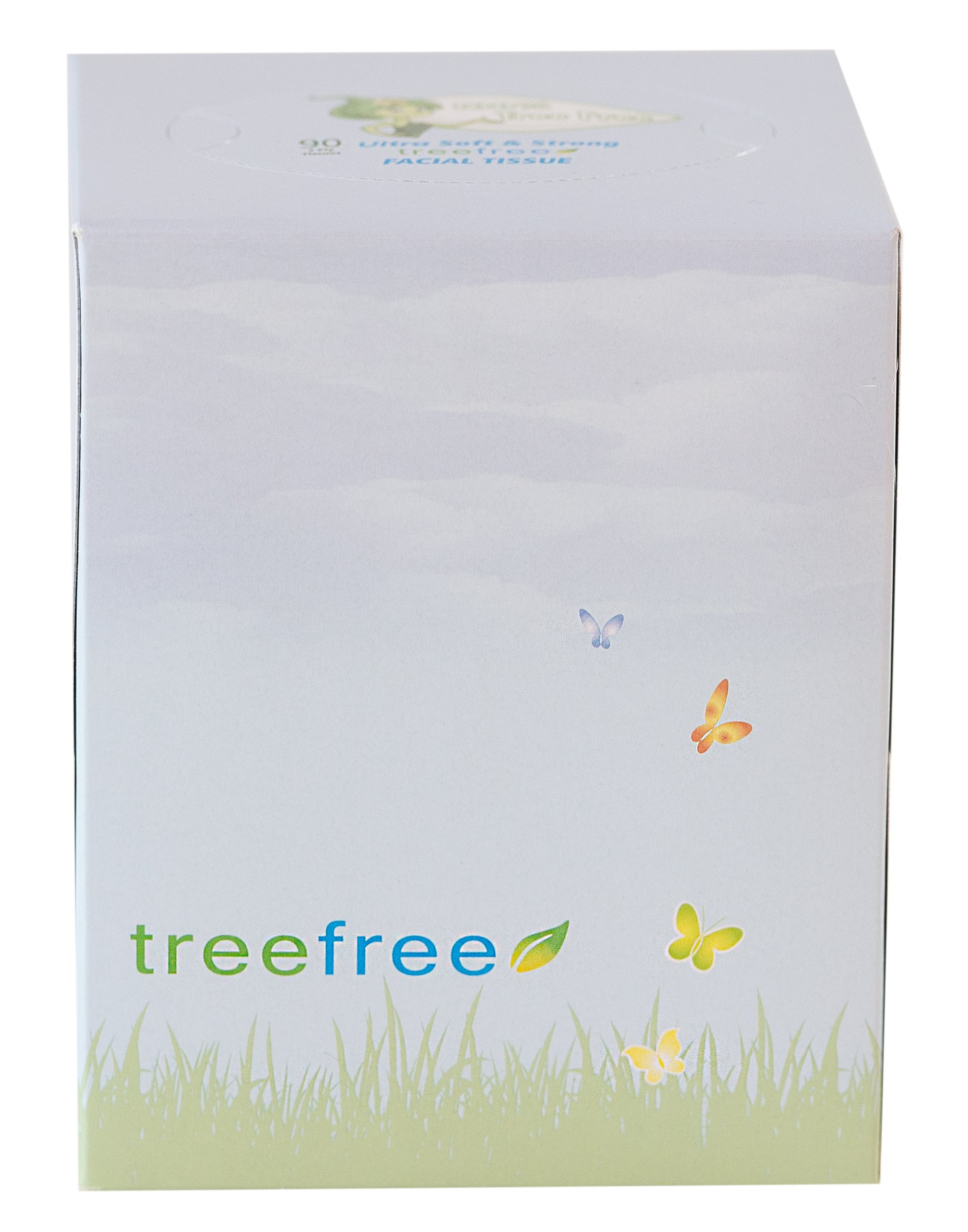 Green2 100% Tree Free Facial Tissue, 90-Sheet, 30 Count by Green2