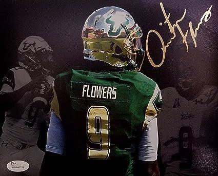 Quinton Flowers Signed Autographed 8x10 USF South Florida Bulls JSA ... 65d947f69