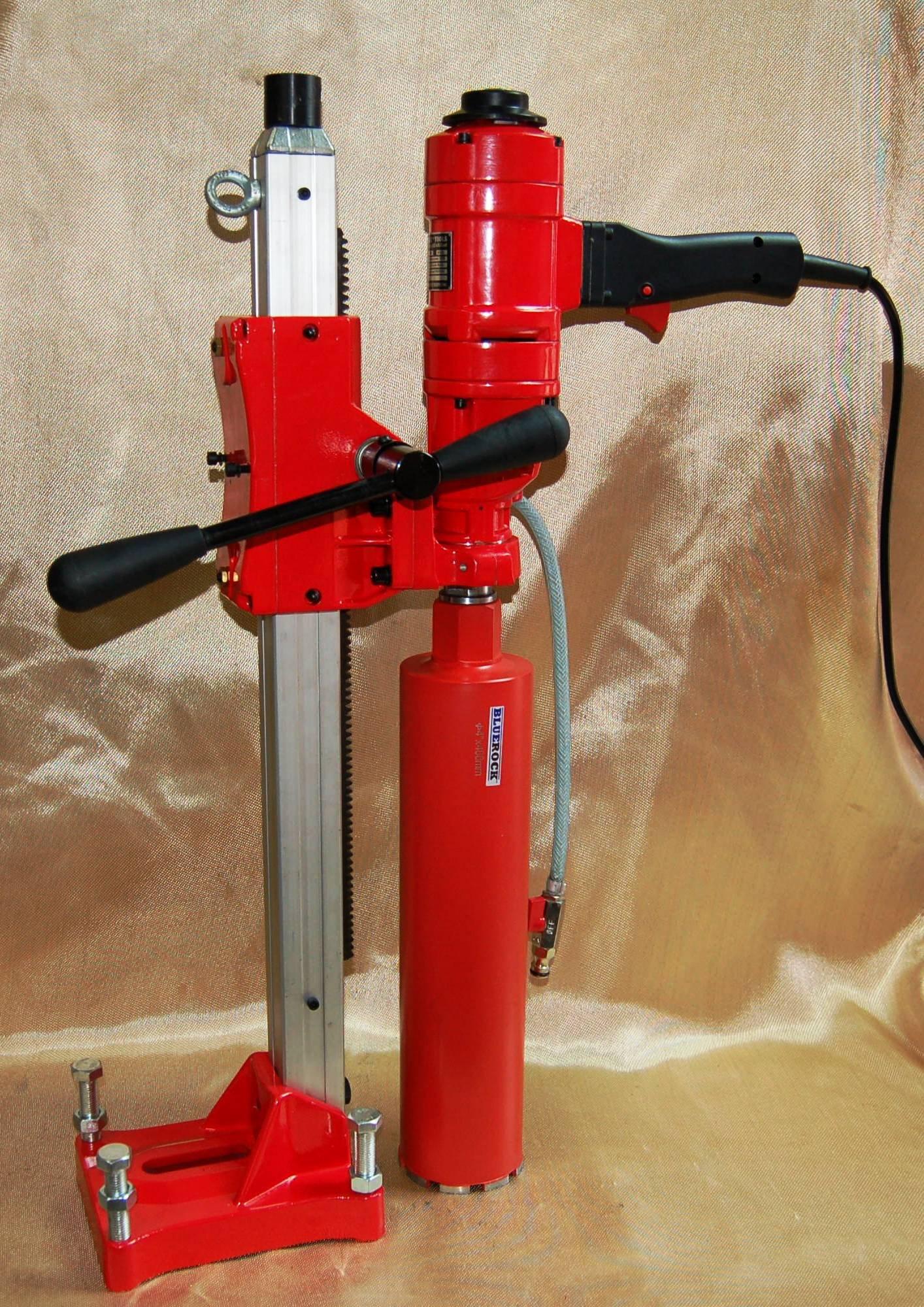 BLUEROCK ® Tools 4'' Concrete Core Drill Model 4'' Z-1WS Coring Drill