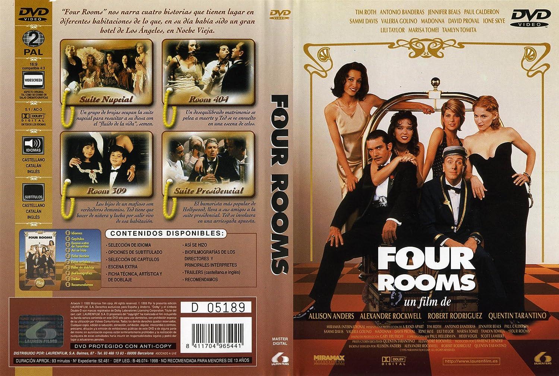 Four rooms [DVD]: Amazon.es: Allison Anders, Robert Rodriguez, Allison Anders: Cine y Series TV