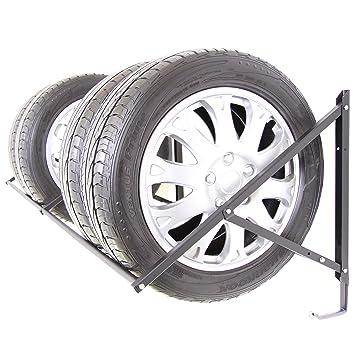 ei-on Llanta algodón Neumáticos Soporte de neumáticos Soporte estantería para neumáticos Llanta Pared Montaje 8 x Neumáticos con 3 Ganchos: Amazon.es: Coche ...