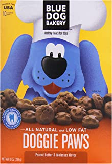 product image for Blue Dog Doggie Paws, Peanut Butter, 10 oz