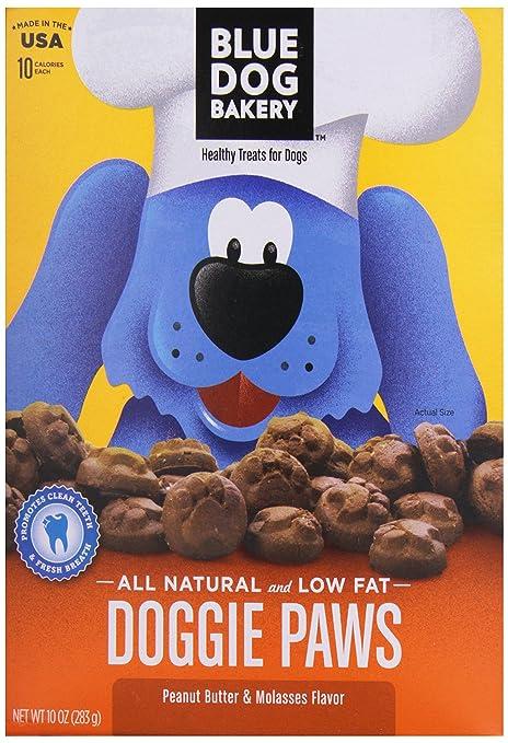 Blue Dog Doggie Paws, Peanut Butter, 10 oz