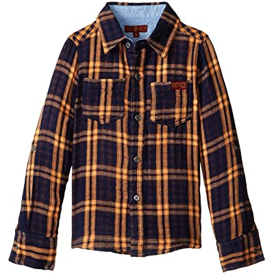 7 For All Mankind Boys' Woven Shirt
