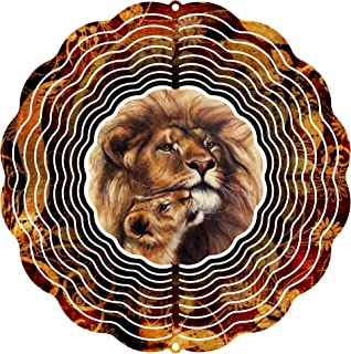 """product image for Next Innovations 101408001-PRIDEFUL Wind Spinner, 10"""" Diameter, Multicolor"""