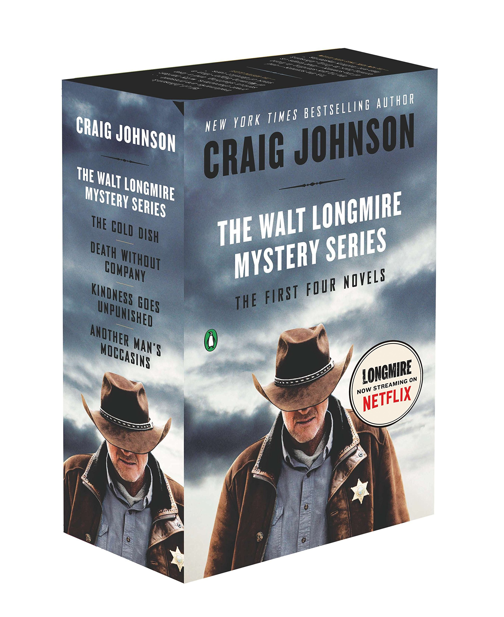 The Walt Longmire Mystery Series Boxed Set Volumes 1-4: The First Four Novels (Walt Longmire Mysteries) by Brand: Penguin Books