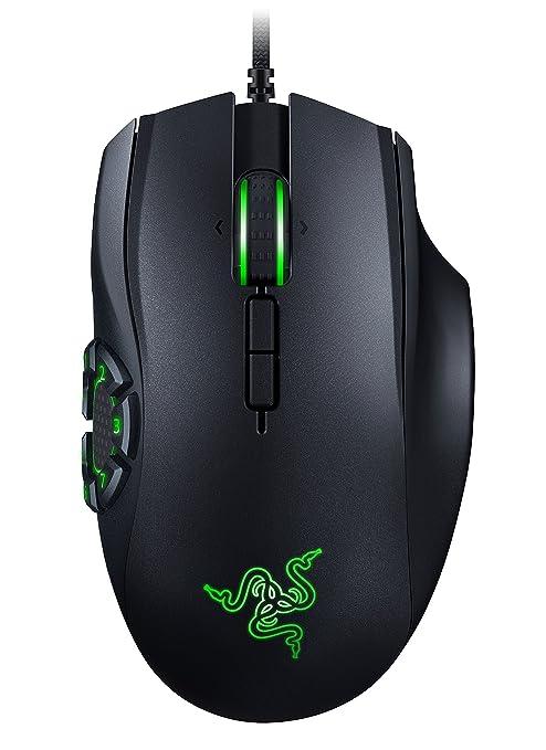 RAZER NAGA HEX V2: 7 Button Thumb Grid - 16,000 Adjustable DPI - New  Ergonomic Form Factor - MOBA Gaming Mouse