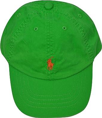 Polo Ralph Lauren - Gorra con visera para niño, talla 2/4, color ...