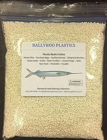 Amazon.com: Ballyhoo preponderado al, pellets Blanco ...