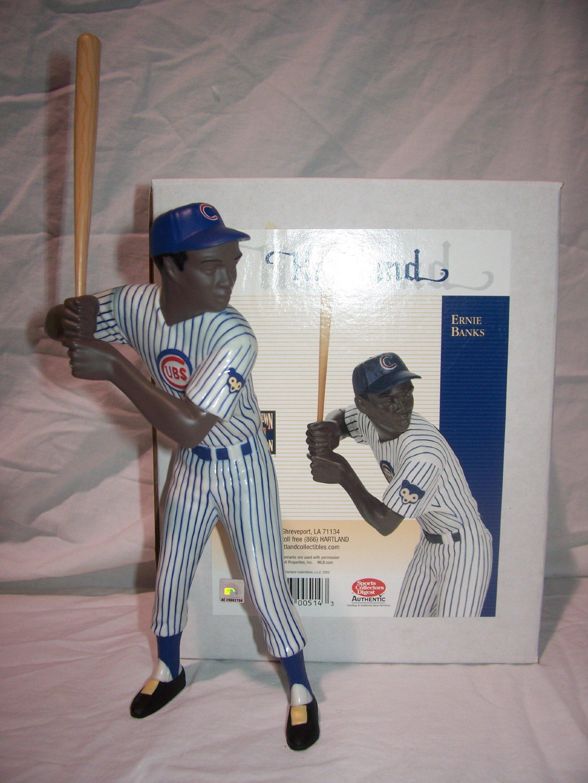 Ernie Banks Chicago Cubs Hartland Figurine