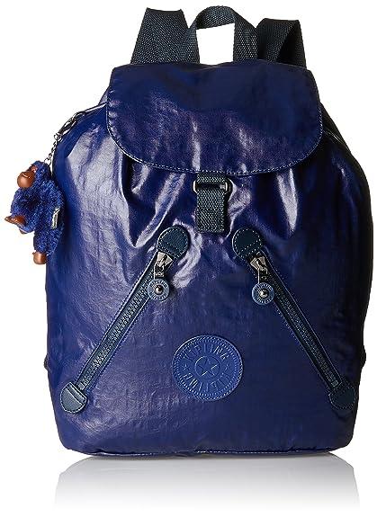 e552c6b32b9 Kipling Women's Fundamental Rucksack 42 x 42 x 16.5 cm Blue Size: UK One  Size