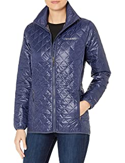Columbia Womens Dualistic Mid Jacket sz XS or S Lightweight Insulated Mid Length