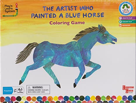 Amazon.com: The Artist Who Painted a Blue Horse Coloring Game: Toys ...