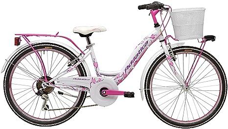 Bicicletta Cicli Adriatica Ctb Da Ragazza Telaio In Acciaio Ruota Da 24 Cambio Shimano A 6 Velocità Taglia 34 Due Colori Disponibili