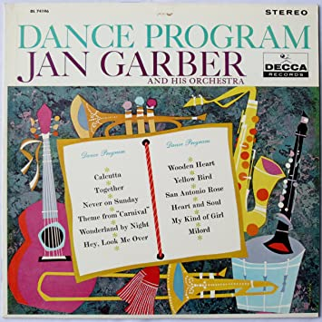 Jan Garber and His Orchestra - Dance Program: Jan Garber and His Orchestra - Amazon.com Music