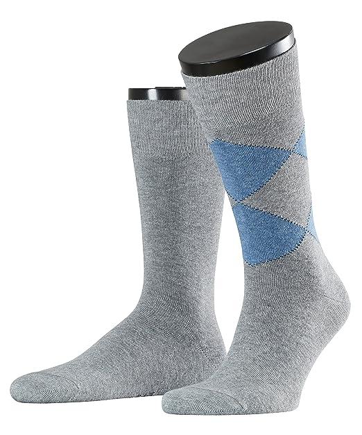 ESPRIT Herren Socken New Rhomb Doppelpack, 2er Pack, Mehrfarbig (Light  Greymeliert 3390)