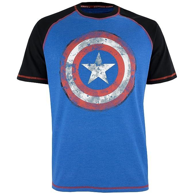 Marvel - Pijama para Hombre - Avengers Capitán América: Amazon.es: Ropa y accesorios