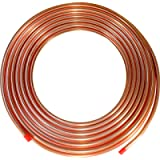 ICS Industries - 3/8' OD Copper Refrigeration ACR Tubing 50 FT