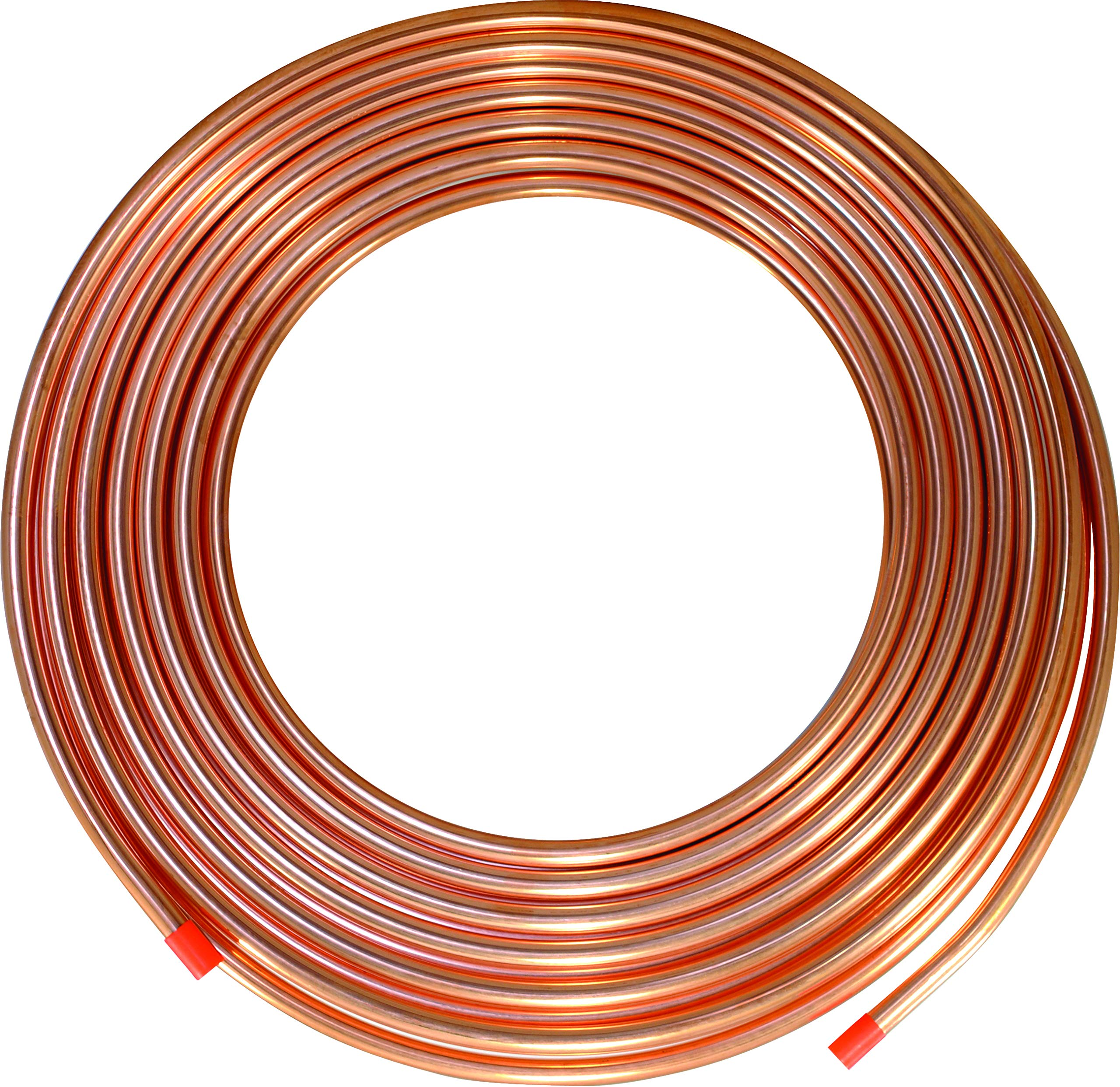 ICS Industries - 3/8'' OD Copper Refrigeration ACR Tubing 100 FT by ICS Industries