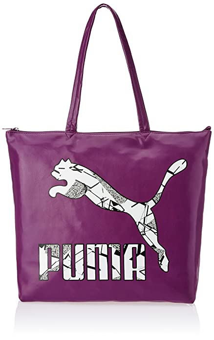 886361d32918 Puma Easy Shopper Women s Shoulder Bag (Purple)  Amazon.in  Shoes ...